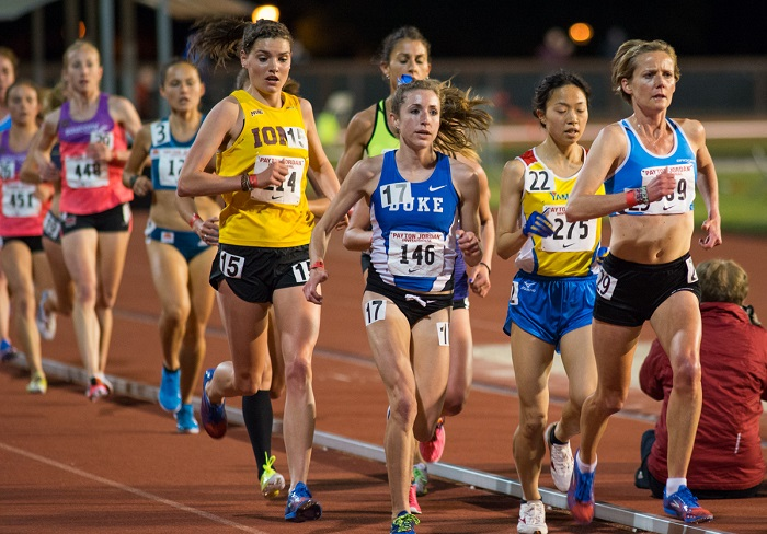 10000 M - Kristine Swisher (448), Juliet Bottorff (146), Shiho Takechi (275), Sonia Samuels (589)